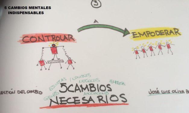 TRANSFORMACIONES MENTALES NECESARIAS 3/5