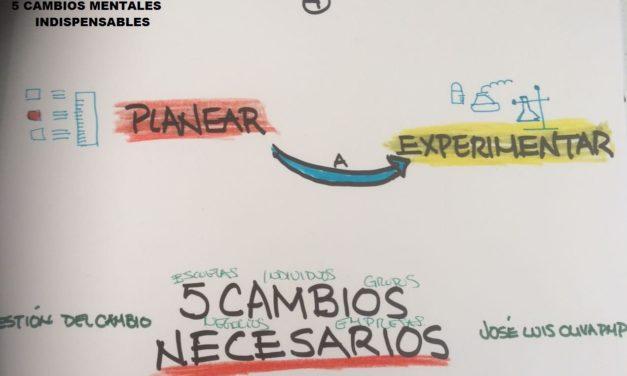TRANSFORMACIONES MENTALES NECESARIAS 4/5