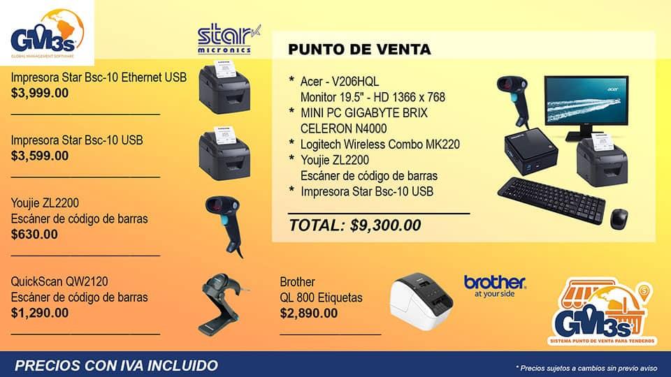 Punto de Venta GM3s Tenderos